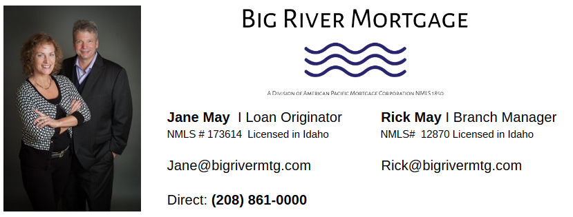 Jane May Big River Mortgage Boise Signature